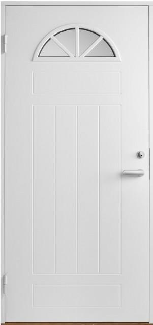 двери белые металлические со стеклом